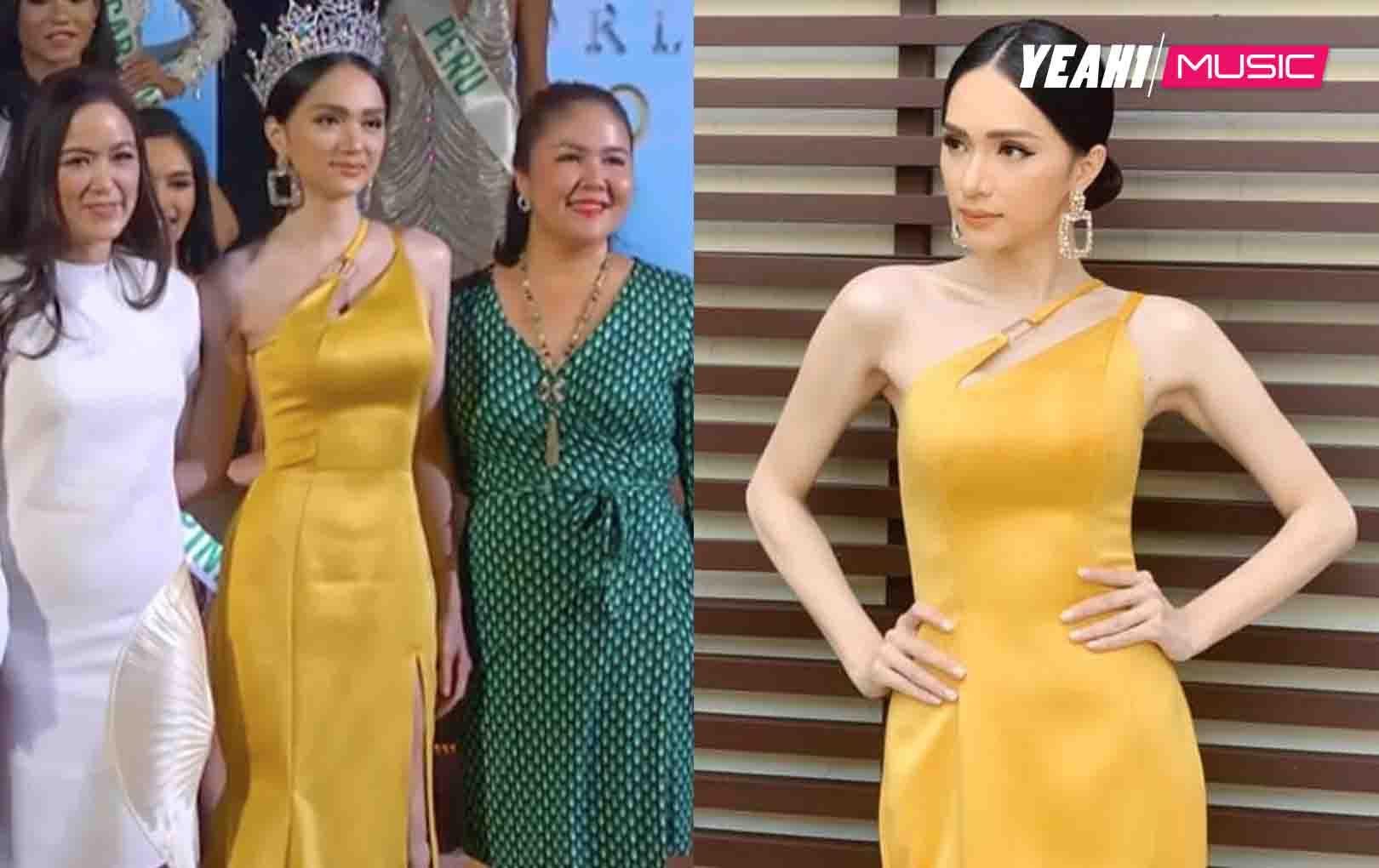 Hương Giang lộng lẫy tựa nữ thần, đẹp lấn át các cựu Hoa hậu Chuyển giới Quốc tế