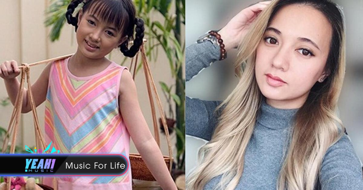 'Bé' Xuân Nghi – cô bé đen nhẻm thành nhan sắc 'Tây' ở tuổi 24, tóc vàng hoe, da trắng bóc, thần thái không kém cạnh gái tây