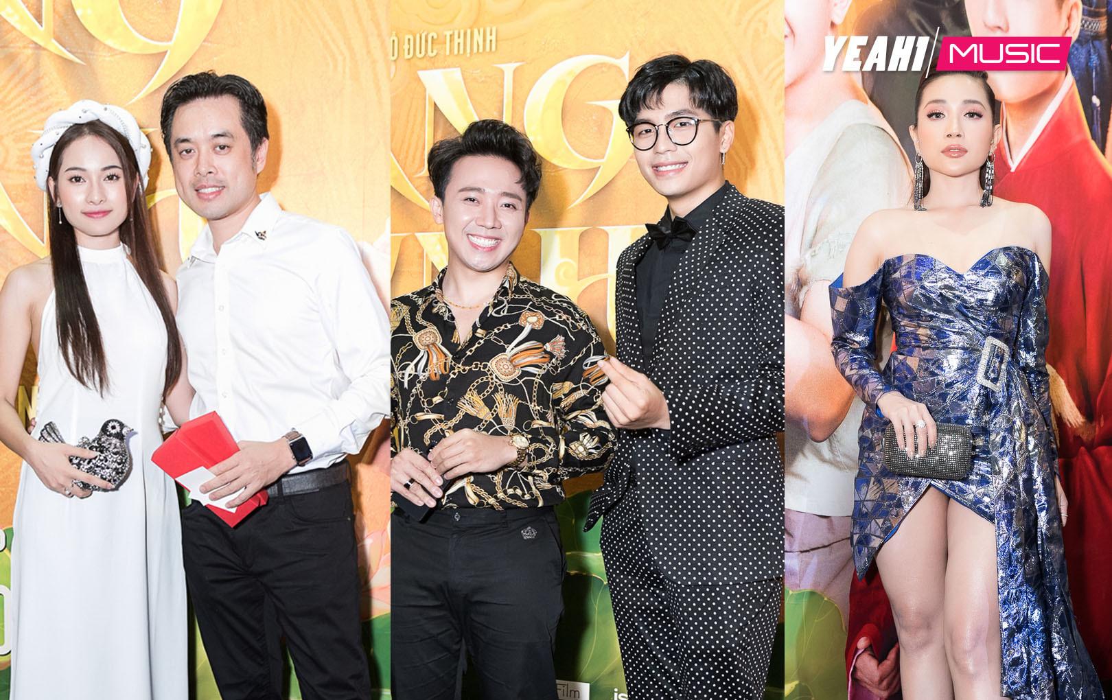 Dàn sao Việt nô nức đi ủng hộ phim Nhã Phương đóng, nhưng lại thiếu vắng nhân vật chính