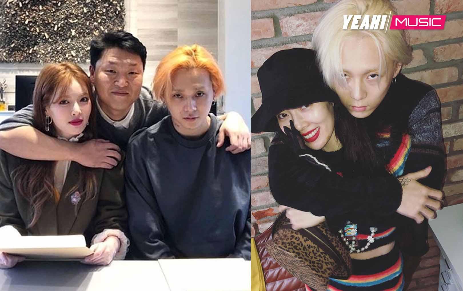 Chưa đầy 24 tiếng sau khi về chung nhà với PSY, thời hoàng kim của nữ hoàng solo HyunA đã trở lại!