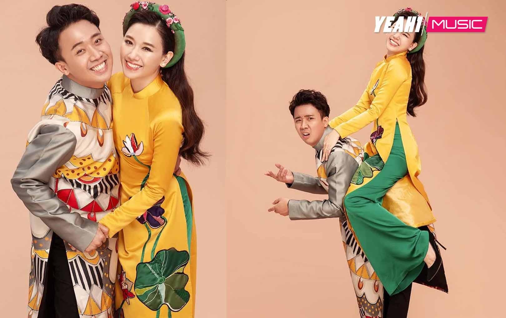 """Mặc kệ lời """"chỉ trích"""" của Vy Oanh, Trấn Thành - Hari Won vẫn tung bộ ảnh tết """"siêu lầy"""""""