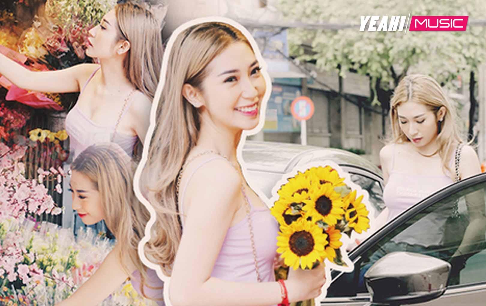 Khổng Tú Quỳnh rạng rỡ, tất bật lái xe mới tậu tiền tỷ đi chợ hoa ngày Tết