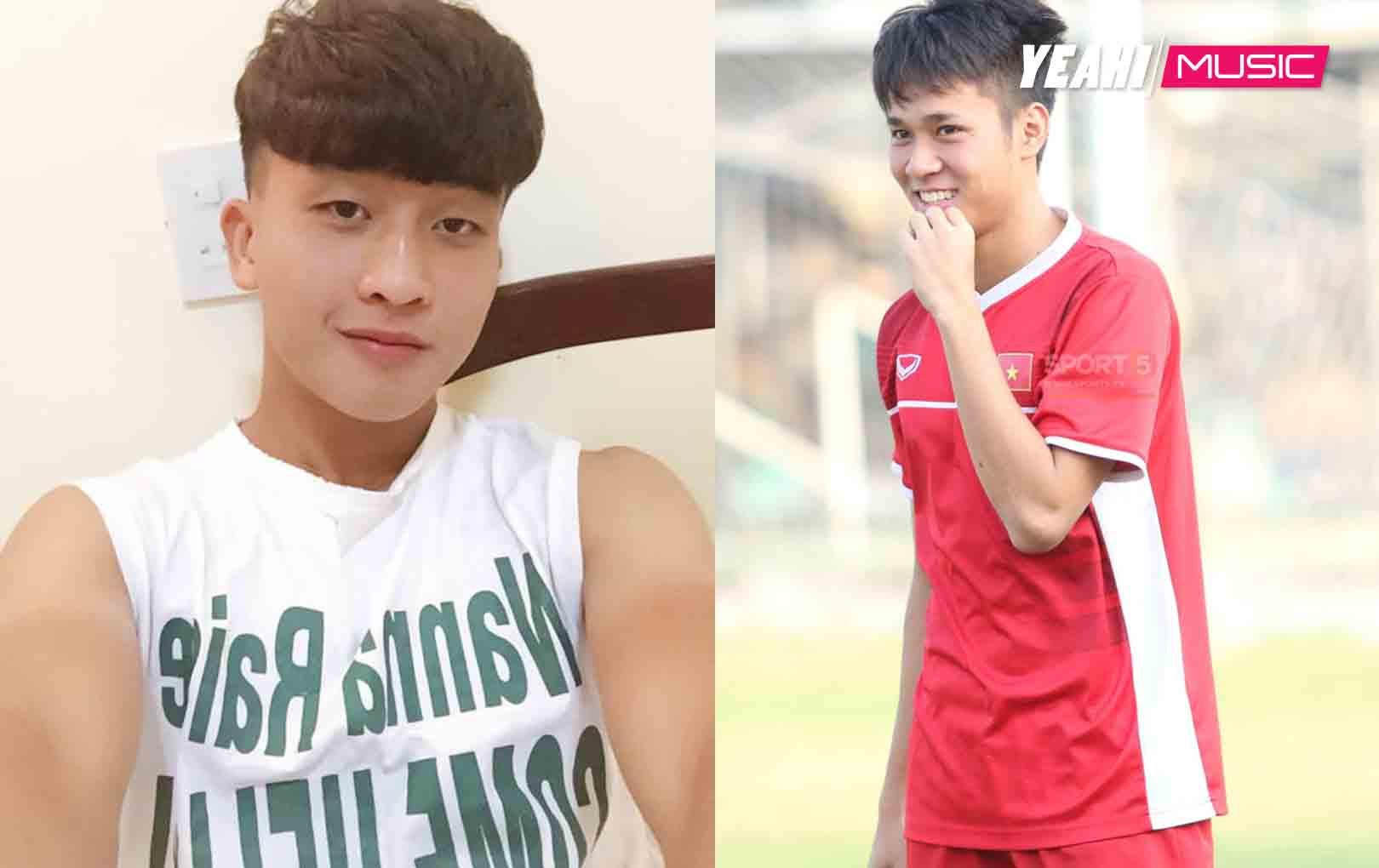 Danh tính 2 chàng cầu thủ điển trai đang được tìm kiếm nhiều nhất sau trận ra quân của U22 Việt Nam
