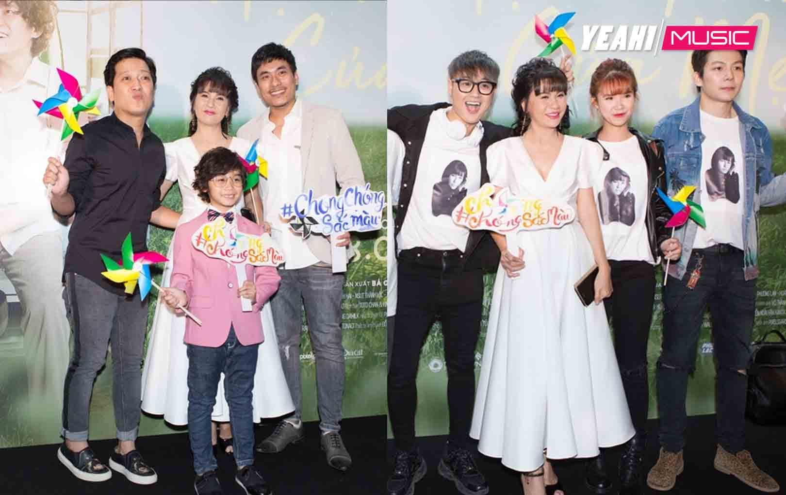 Dàn sao khủng nô nức đến chúc mừng Kiều Minh Tuấn - Cát Phượng ra mắt phim mới