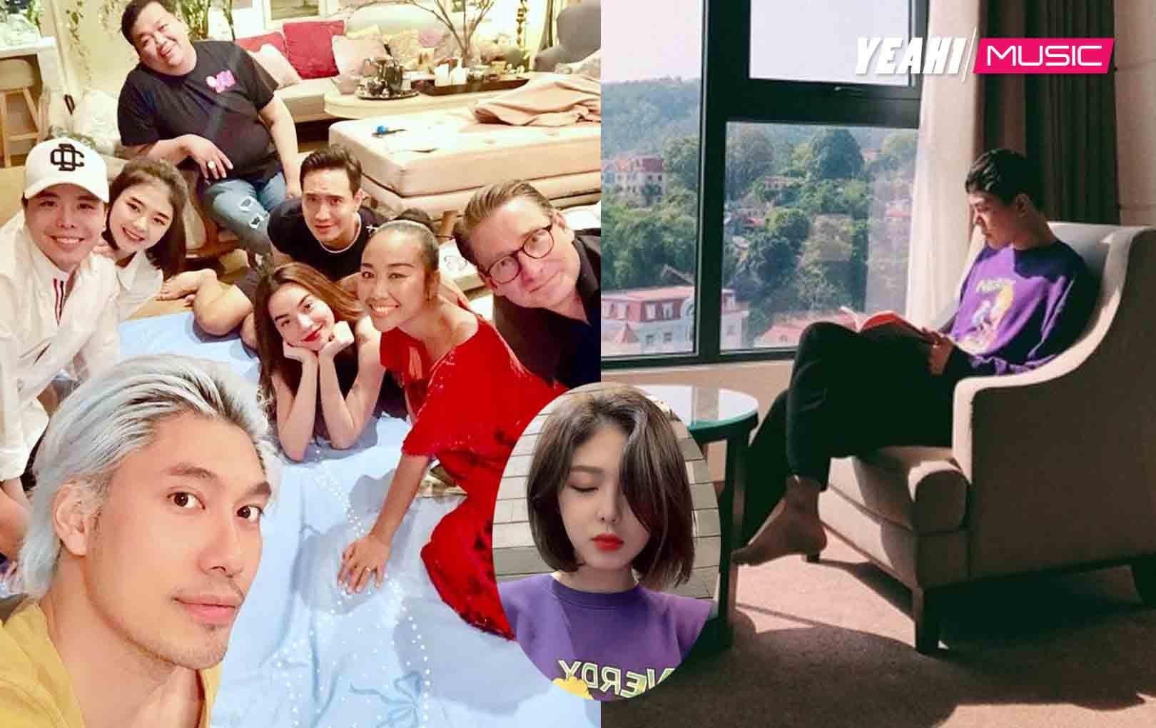 """Không chỉ có ảnh chụp chung, Trịnh Thăng Bình và """"bạn gái"""" lại lộ bằng chứng hẹn hò"""