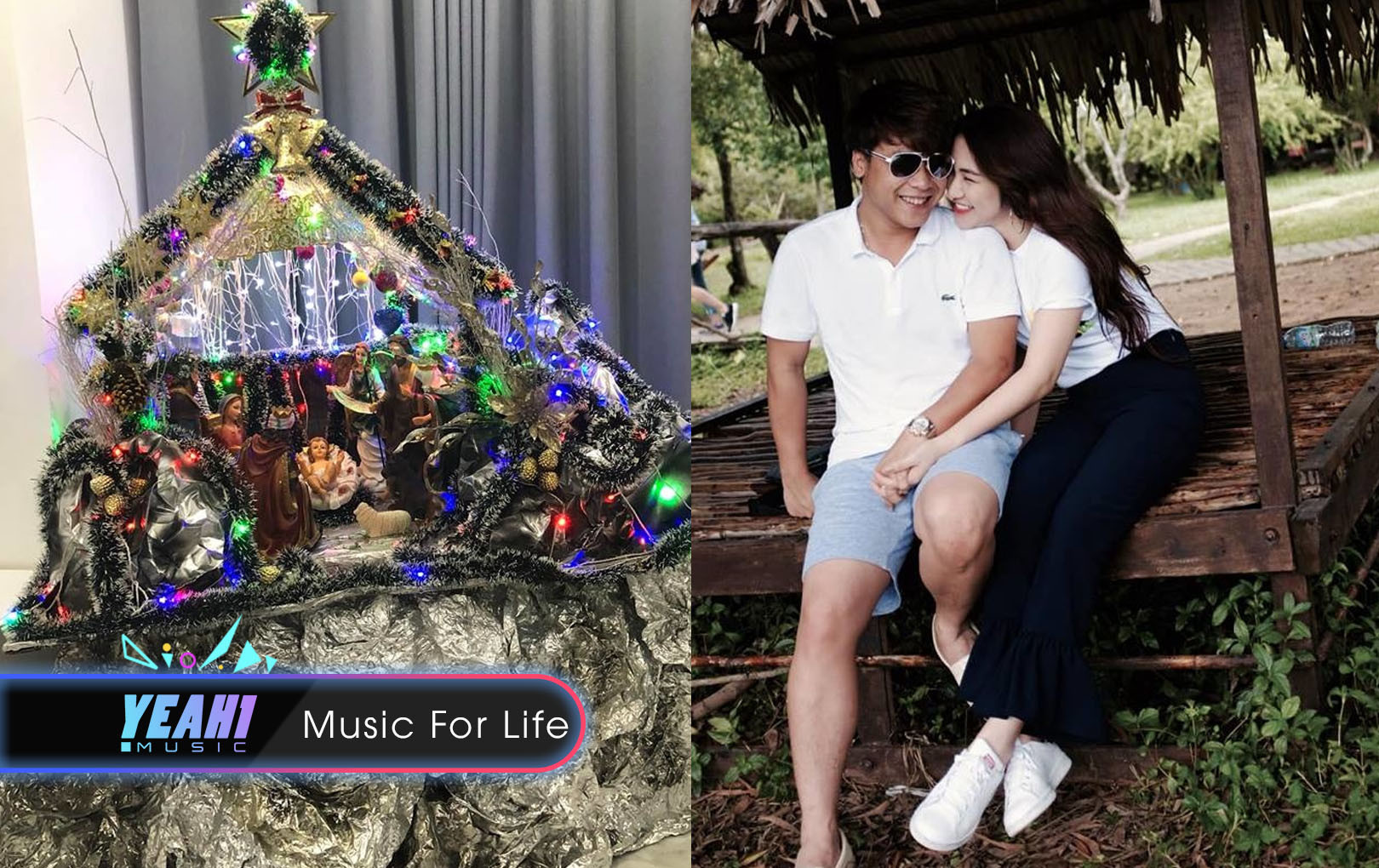 Phản ứng của Hoà Minzy khi thấy người yêu tự tay trang trí Giáng sinh cho căn biệt thự?