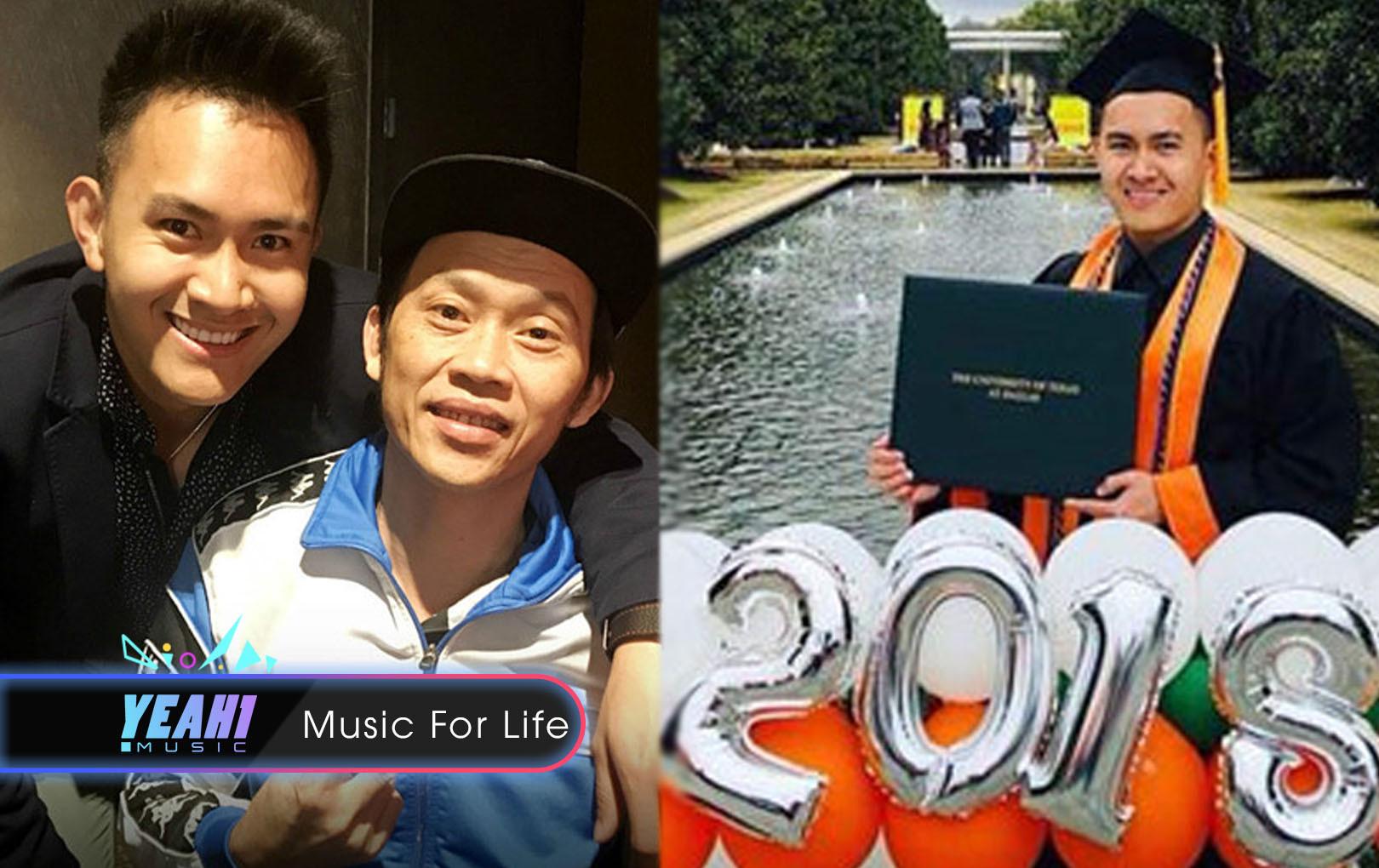 Không còn giấu kín, Hoài Linh công khai hình ảnh, chúc mừng con trai nhận bằng tốt nghiệp ở Mỹ