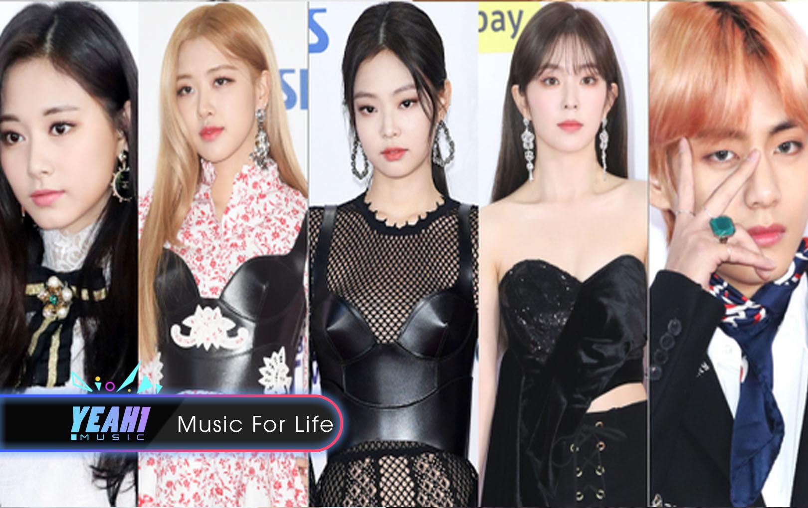 """Siêu thảm đỏ SBS Gayo Daejun: Black Pink gây sốc vì """"vòng 1"""" nhọn hoắt, Irene táo bạo bên BTS, EXO và quân đoàn idol"""