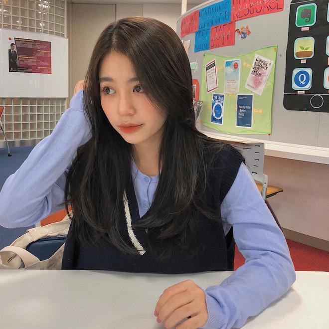 Được làm tóc ở salon Twice thường làm, trông Mẫn Tiên xinh tuyệt đối, chẳng kém gì idol Hàn Quốc
