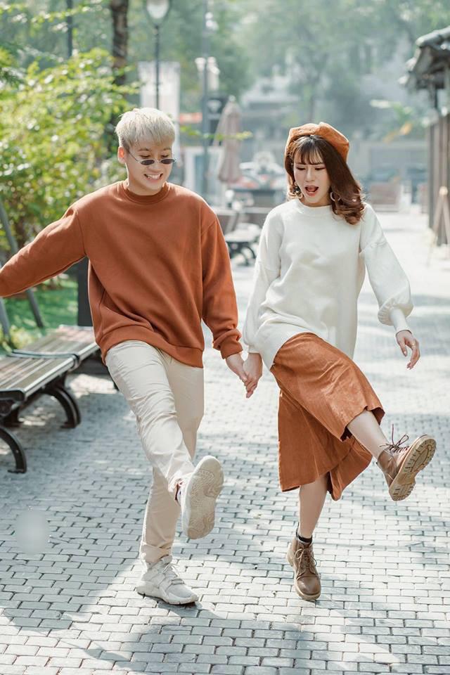Trọn bộ ảnh cưới đậm chất Hàn Quốc của Vlogger Huy Cung và người yêu hot girl