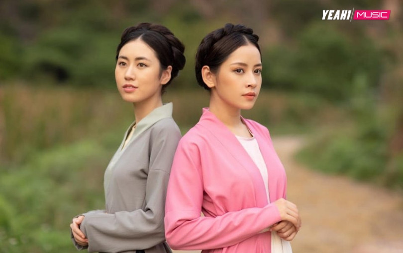 """MV ai người nấy đẹp, """"cô Cám"""" Chi Pu đăng ảnh đọ sắc cùng """"nàng Tấm"""" Mai Vân Trang"""