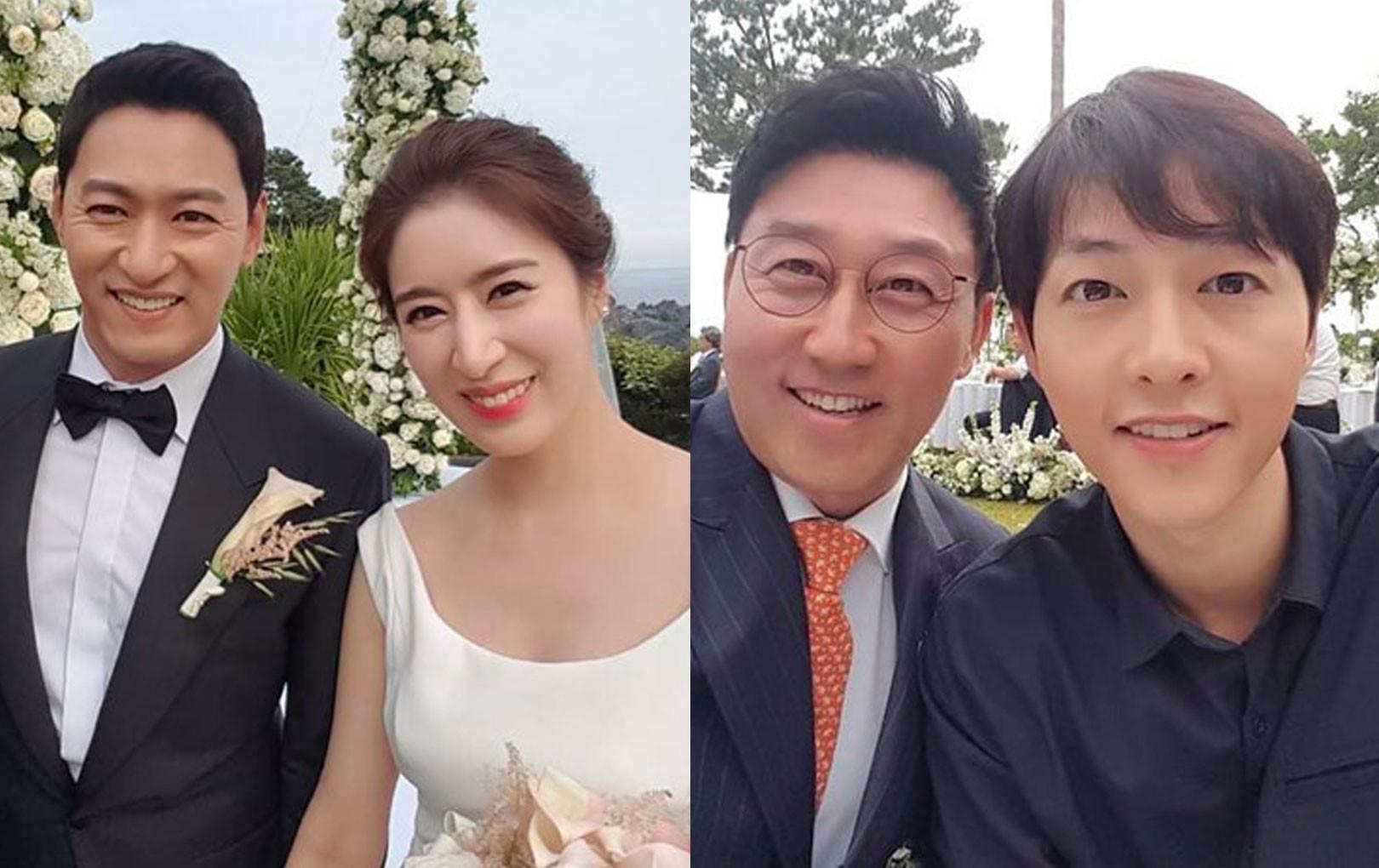 """Đám cưới khủng nhất Kbiz năm nay: Tài tử """"Sắc đẹp ngàn cân"""" cưới mỹ nhân, Song Joong Ki, Jang Dong Gun và dàn sao hội tụ"""