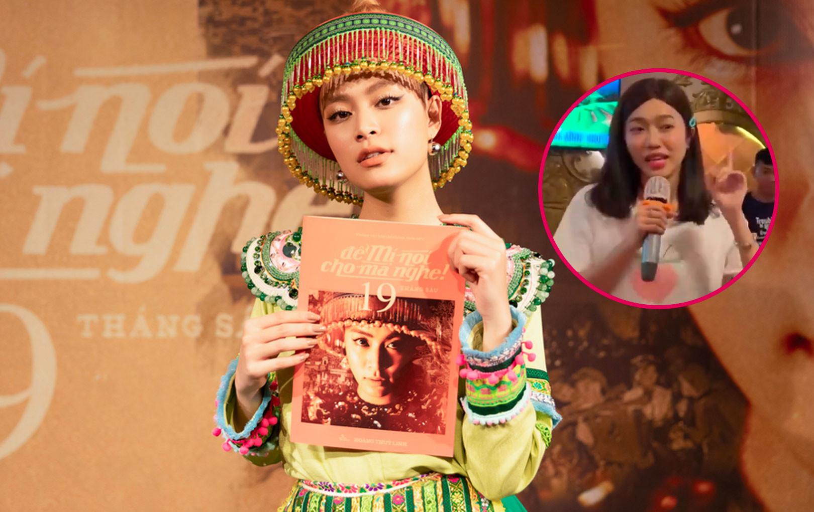 """Hoàng Thùy Linh có bàng hoàng trước bản cover """"Để Mị nói cho mà nghe"""" từ """"thánh phá hit"""" Diệu Nhi"""