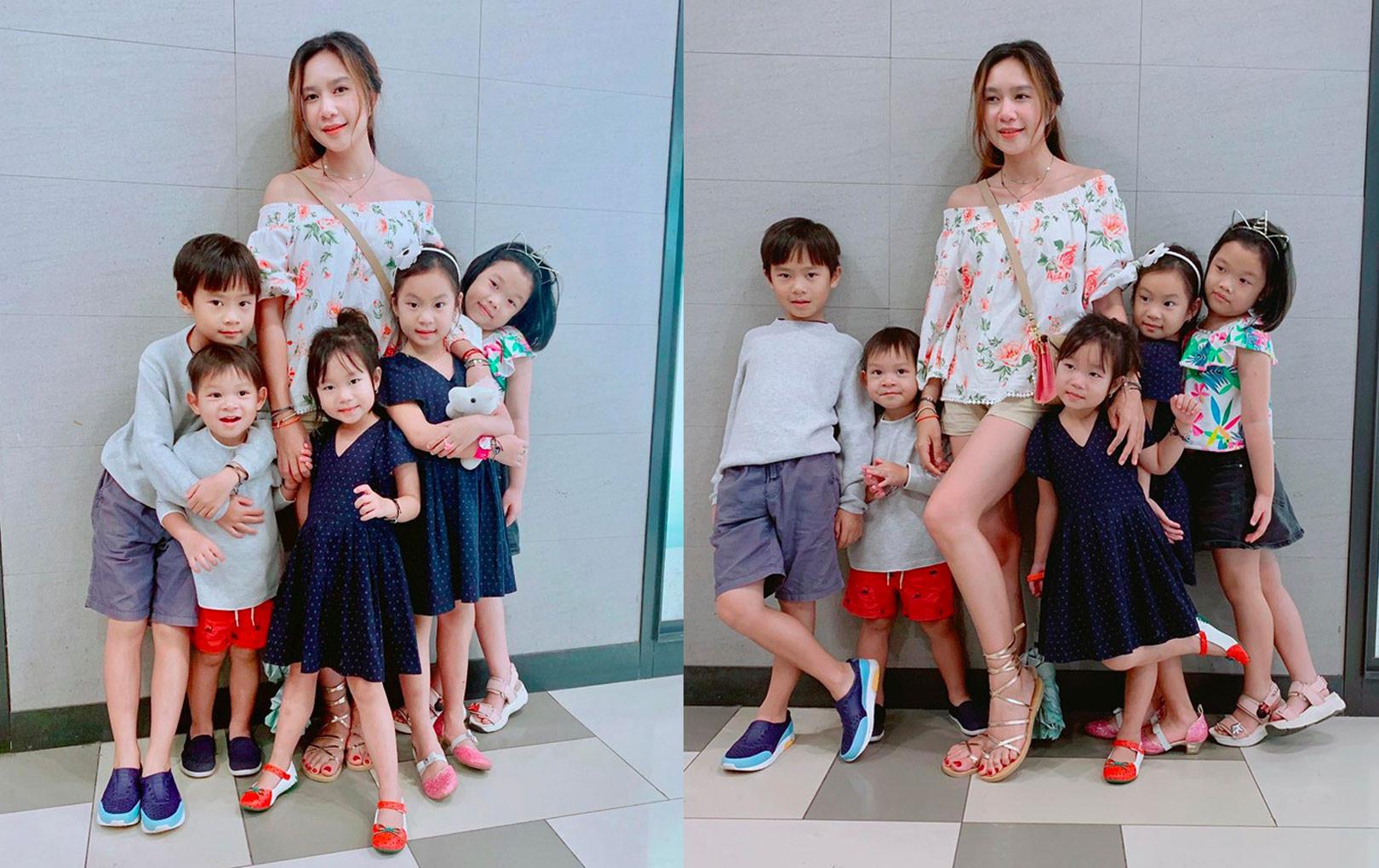 """Bà xã Lý Hải chia sẻ lý do dù 1 nách 4 con vẫn """"quá sung sướng"""" khiến hội mẹ bỉm sữa phải gật gù"""