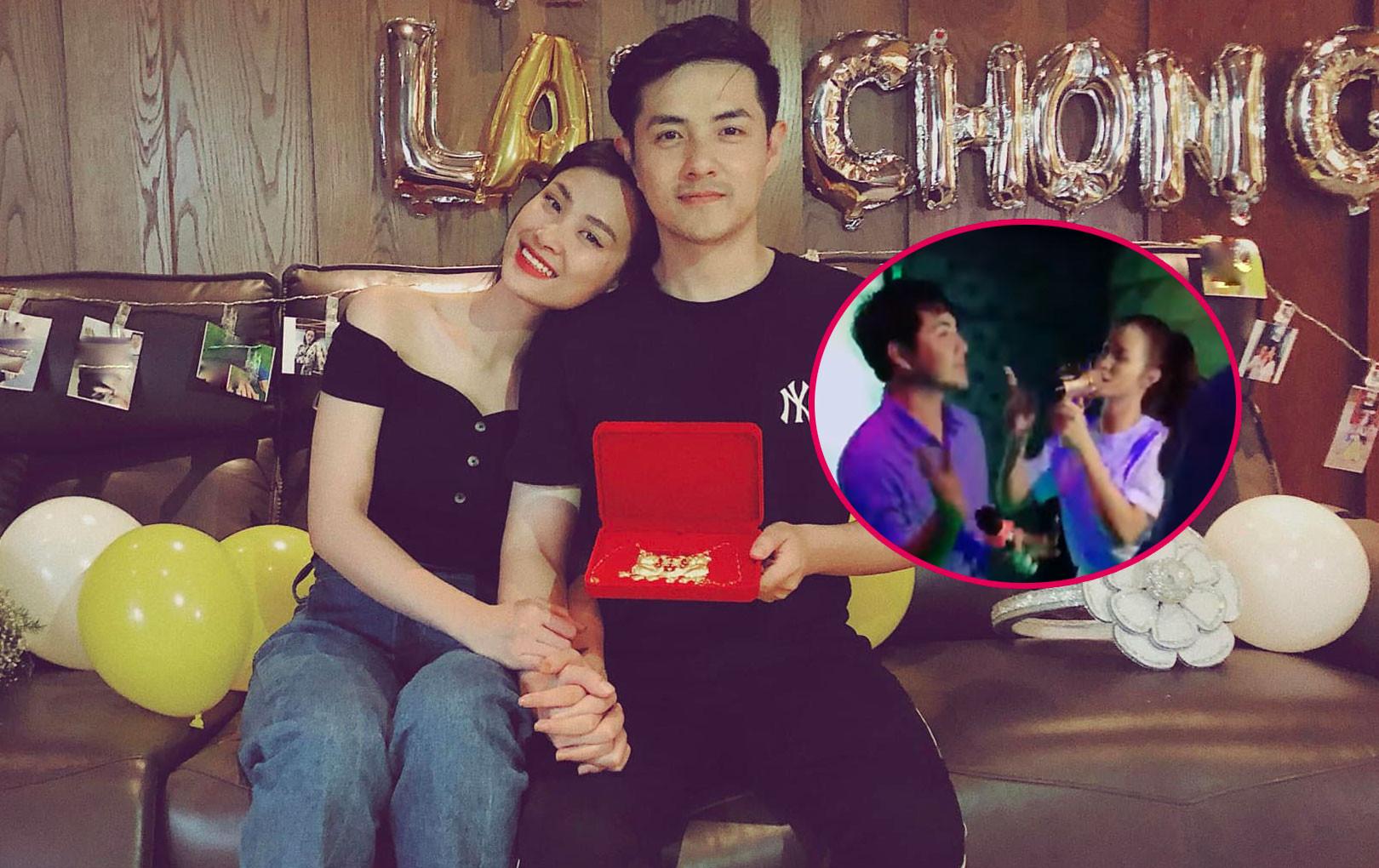 """Đông Nhi - Ông Cao Thắng hát hit """"Tớ thích cậu"""" của Han Sara, hát karaoke sương sương mà tình như trên sân khấu"""