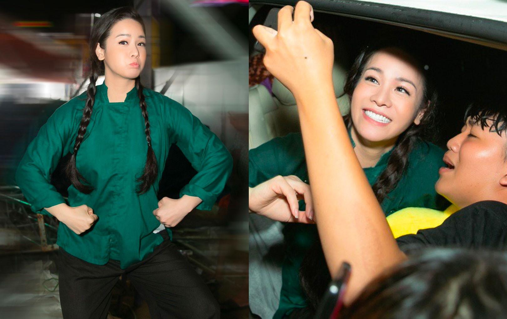 """""""Tiếng sét trong mưa"""" gây sốt, Nhật Kim Anh lần đầu mang Thị Bình ra đời thực, trở thành ca sĩ hot nhất miền Tây"""