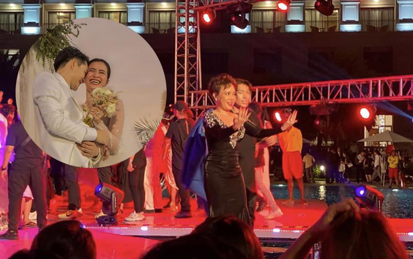 """Đông Nhi - Ông Cao Thắng """"quẫy"""" cực xung với """"Yêu là cưới"""", kéo nguyên dàn vũ công khách mời lên sân khấu"""