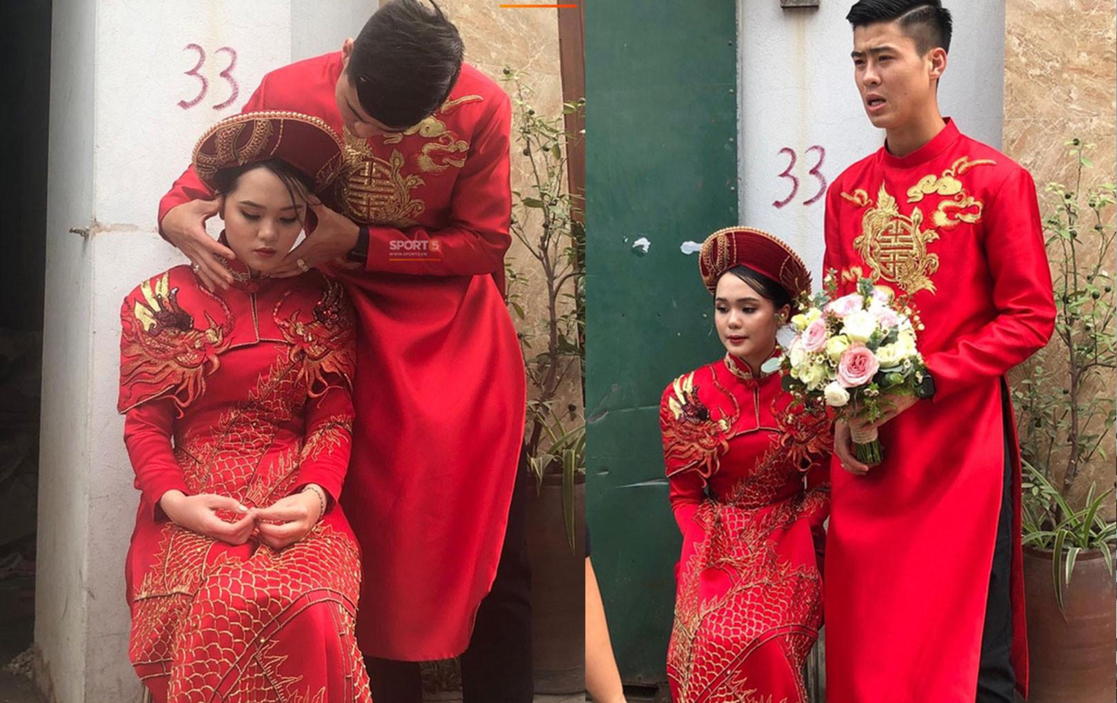 """Duy Mạnh hóa soái ca """"ngôn tình"""", ân cần xoa đầu cho cô dâu Quỳnh Anh vì bị say xe"""