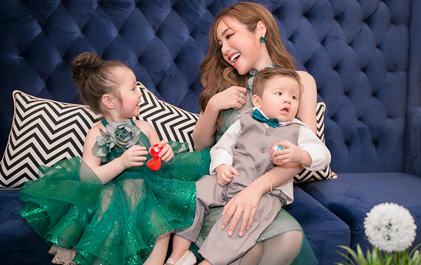Elly Trần bức xúc trước tin đồn hai con không được ở cùng mẹ vì vấn đề hôn nhân