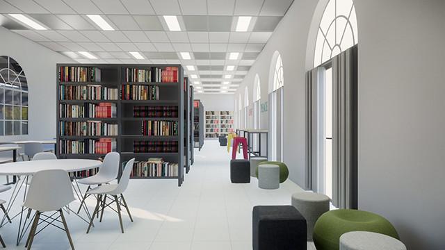Chỉ làm 1 thư viện cho trường học theo concept mới, Yeah1 làm các cựu hoc sinh trường Marie Curie phát hờn, học sinh trường khác muốn chuyển về học