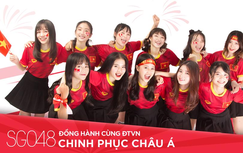 SGO48 kêu gọi cổ vũ tuyển Việt Nam trước thèm chung kết King's Cup