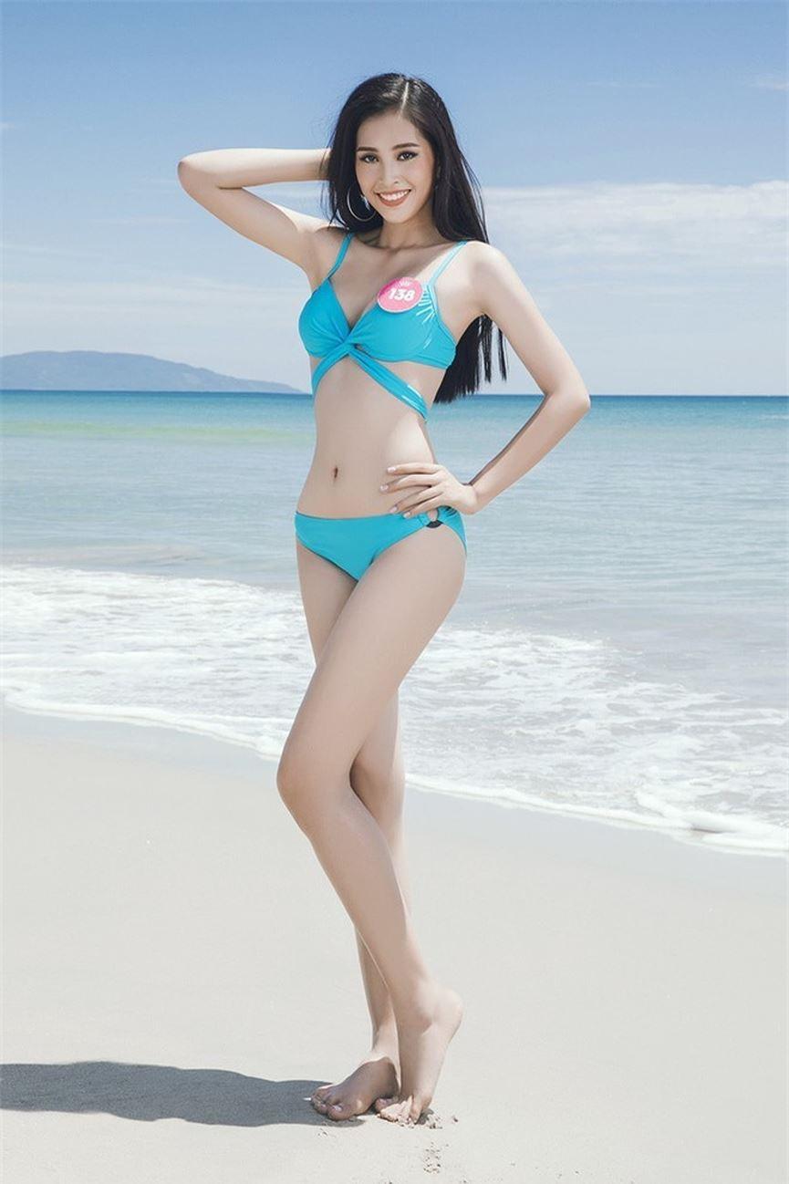 Cứ ngắm mãi body nuột nà của Tiểu Vy khi diện bikini tại đấu trường Hoa hậu Thế giới 2018!