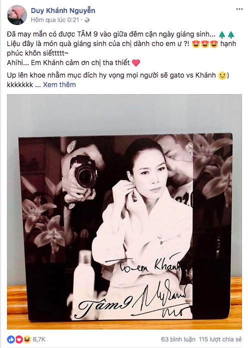 Danh sách fan cuồng của Mỹ Tâm trong V-biz gồm những sao Việt nào?