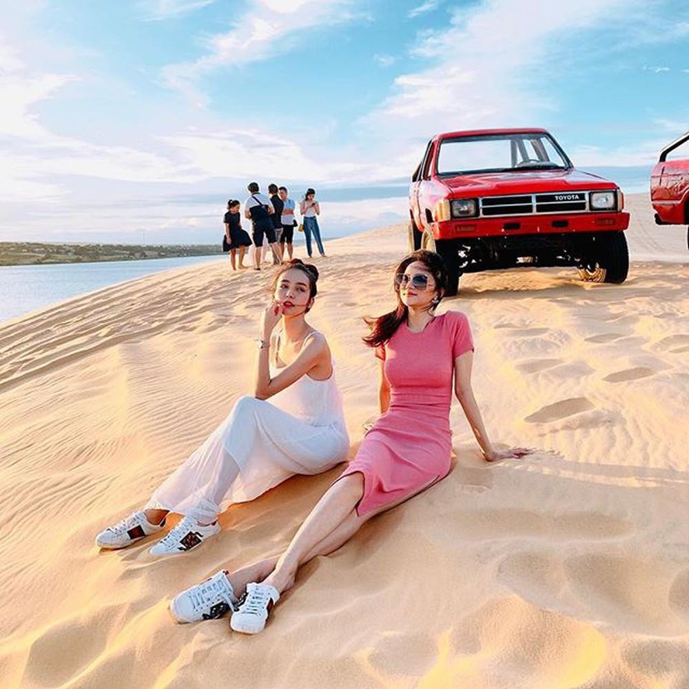 Hương Giang và Thần tiên tỉ tỉ của Thái Lan cùng đọ sắc, khoe vẻ đẹp ngọt ngào