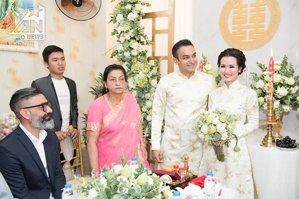 Có ai sướng như Võ Hạ Trâm, về làm dâu lại được mẹ chồng Ấn Độ chăm thế này