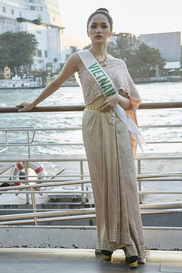 Sao Việt diện trang phục nước ngoài: Hương Giang Như gái Thái, nhìn sang Lý Nhã Kỳ ngỡ ngàng