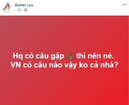Vy Oanh chỉnh sửa status mắng Trấn Thành - Thu Hoài tận 13 lần, CĐM:  Uốn lưỡi 7 lần chưa