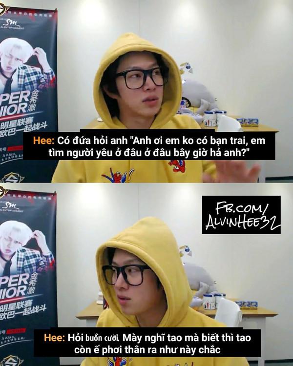 Danh hiệu khẩu nghiệp của KPop do fan bình chọn: Còn ai xứng đáng hơn siêu sao vũ trụ Kim Heechul?