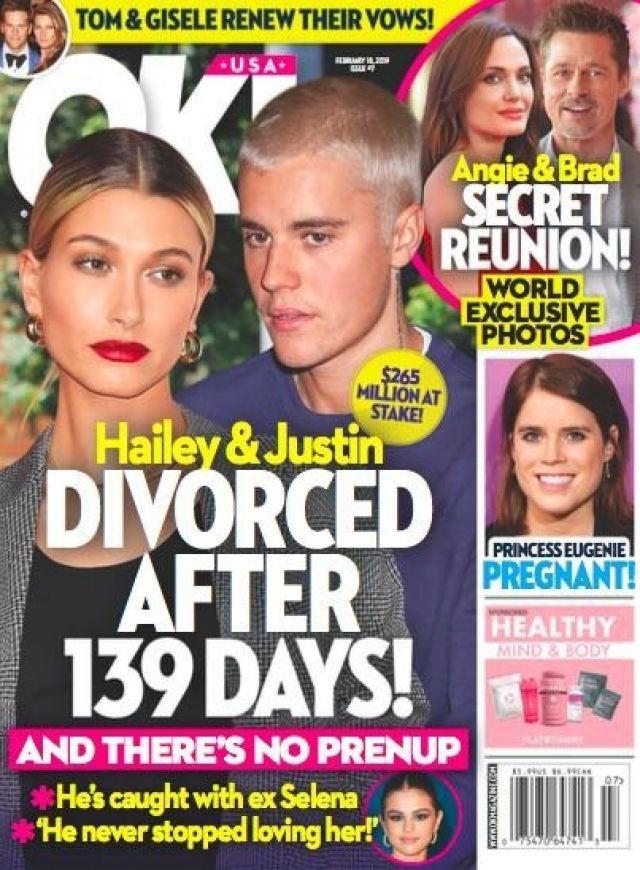 Rộ tin Justin Bieber đã ly hôn sau 139 ngày về chung 1 nhà, nghi vấn vì Selena Gomez?