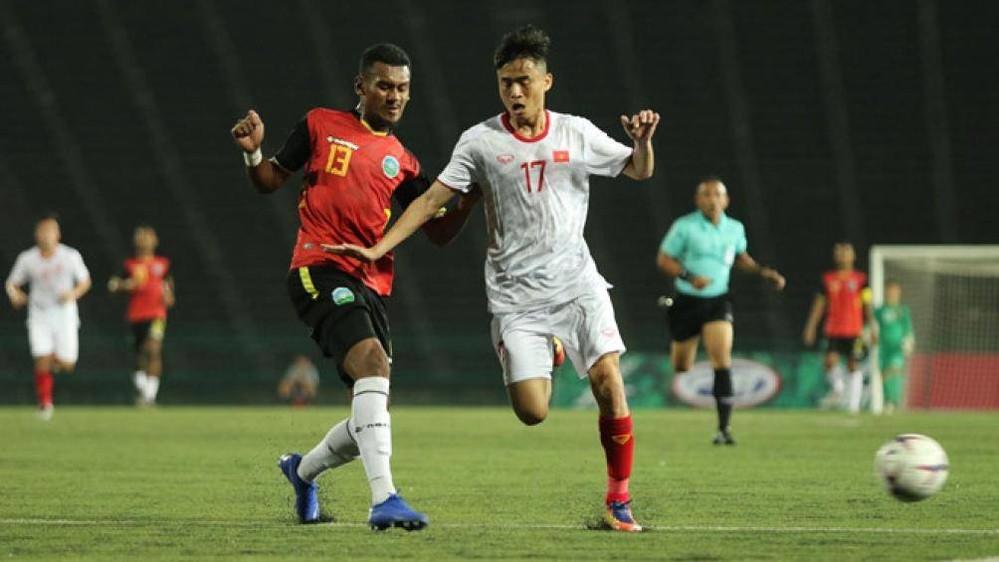 Thắng áp đảo trước Đông Timor, U22 Việt Nam hiên ngang bước vào bán kết U22 Đông Nam Á