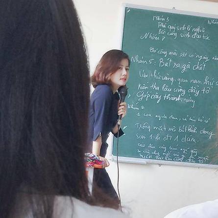 Ngỡ ngàng nhan sắc của  giáo viên thực tập đẹp như hotgirl, CĐM thi nhau khoe cô giáo trường mình