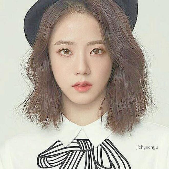 Jisoo nào có khác gì nữ chính ngôn tình nếu cô nàng thực sự cắt tóc ngắn