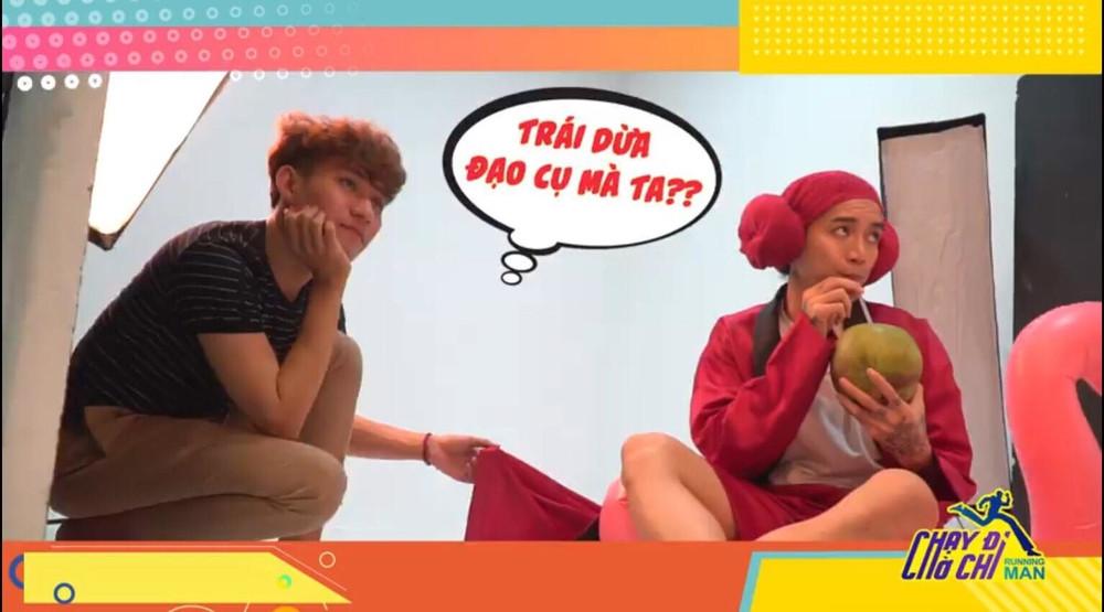 Cười không ngớt với Trấn Thành - BB Trần lầy lội trong hậu trường Running Man Việt Nam