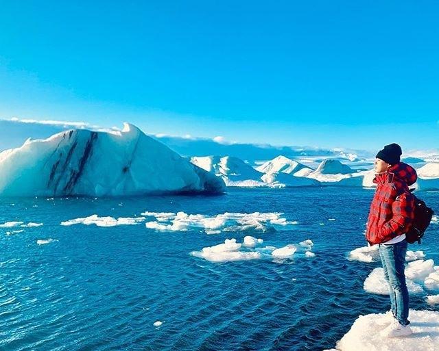 Ở vùng đất lạnh giá Iceland, Bảo Anh diện bikini tự tin thả dáng dưới ống kính của Hồ Quang Hiếu?