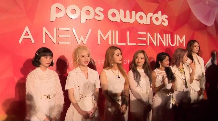 Dàn sao Vpop đình đám lộng lẫy đốt cháy thảm đỏ lễ trao giải POPS Awards 2019