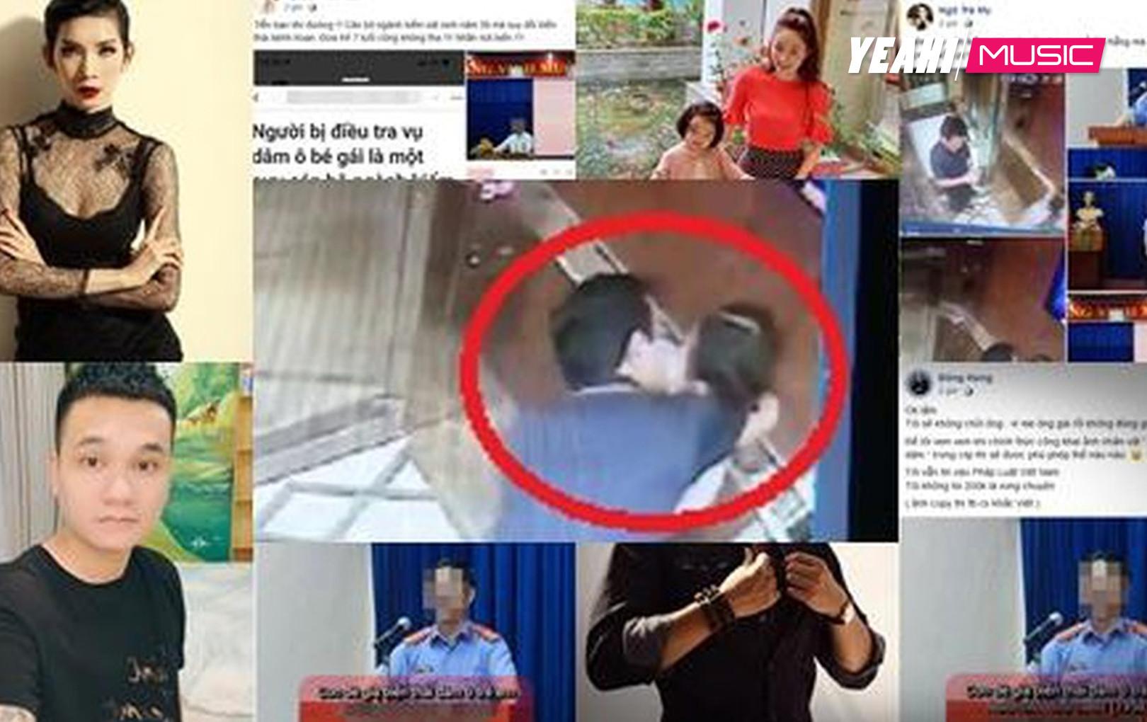 """Sao Việt đồng loạt """"tức giận"""" khi biết rõ thân thế người đàn ông có ý đồ với bé gái mới lên 7 trong thang máy chung cư"""