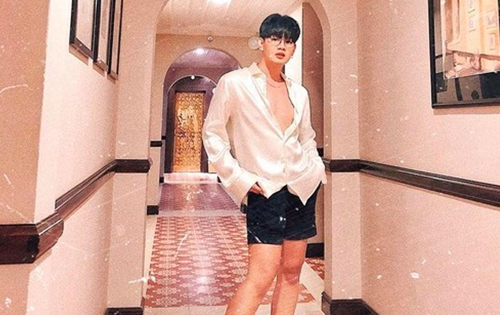 """Trước khi lột xác gợi cảm thành """"Hoa hậu Quận 10"""", Đào Bá Lộc từ một chàng trai với thân hình """"nhẹ tựa lông hồng"""" khó tin"""