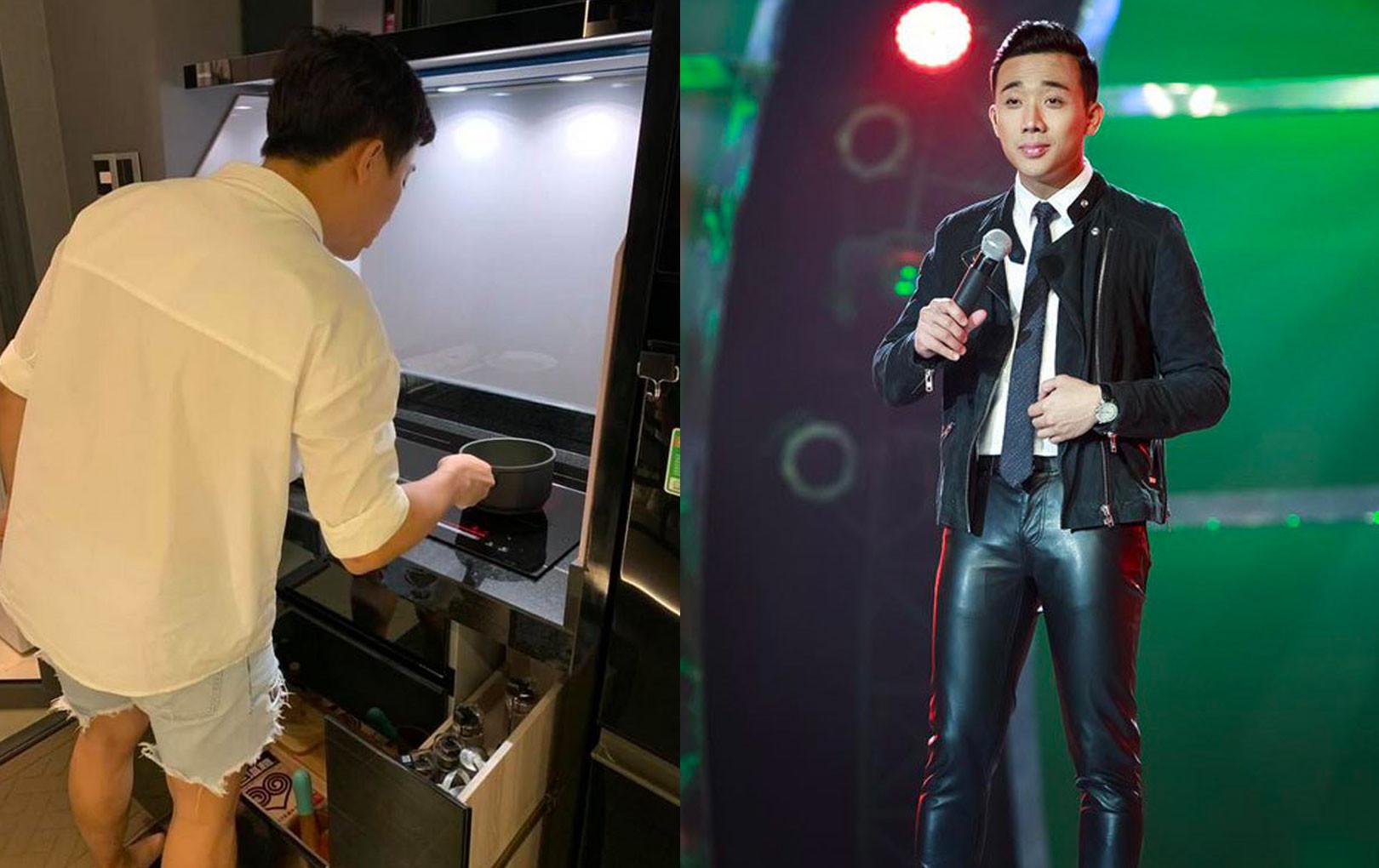 Fan tiếp tục trêu khi Trấn Thành diện quần 'sai quá sai', anh lại mượn của Hari mặc à?
