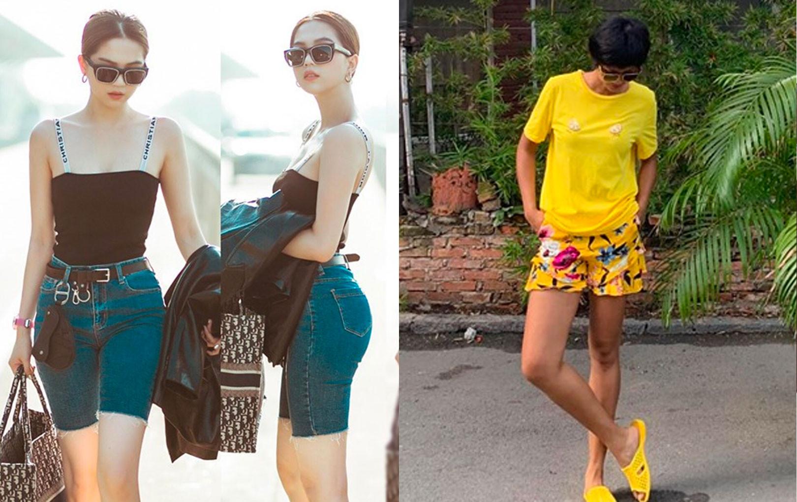 H'Hen Niê giản dị hết cỡ với đồ ngủ, dép tổ ong - Hiền Thục khoe street style trẻ trung như U20