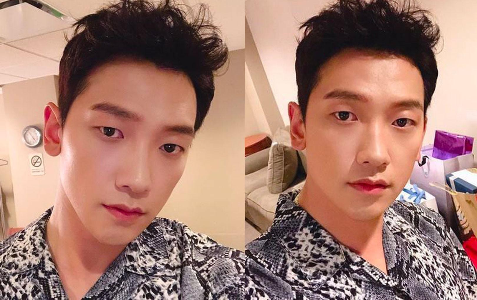 """""""Ông chú"""" 38 tuổi Bi Rain đăng ảnh selfie đầy trẻ trung nhưng vẫn bị netizen Hàn """"khẩu nghiệp"""" ví như... con muỗi"""