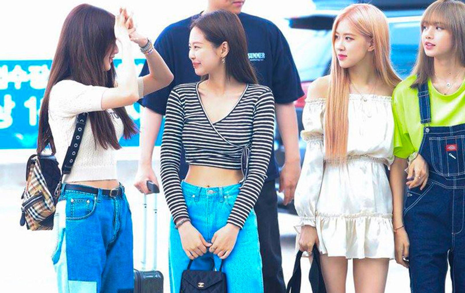 """Kpop có ngàn đóa hoa xinh đẹp mặc chất nhưng sao chỉ Black Pink mới có tài gây """"náo loạn"""" sân bay đến vậy?"""