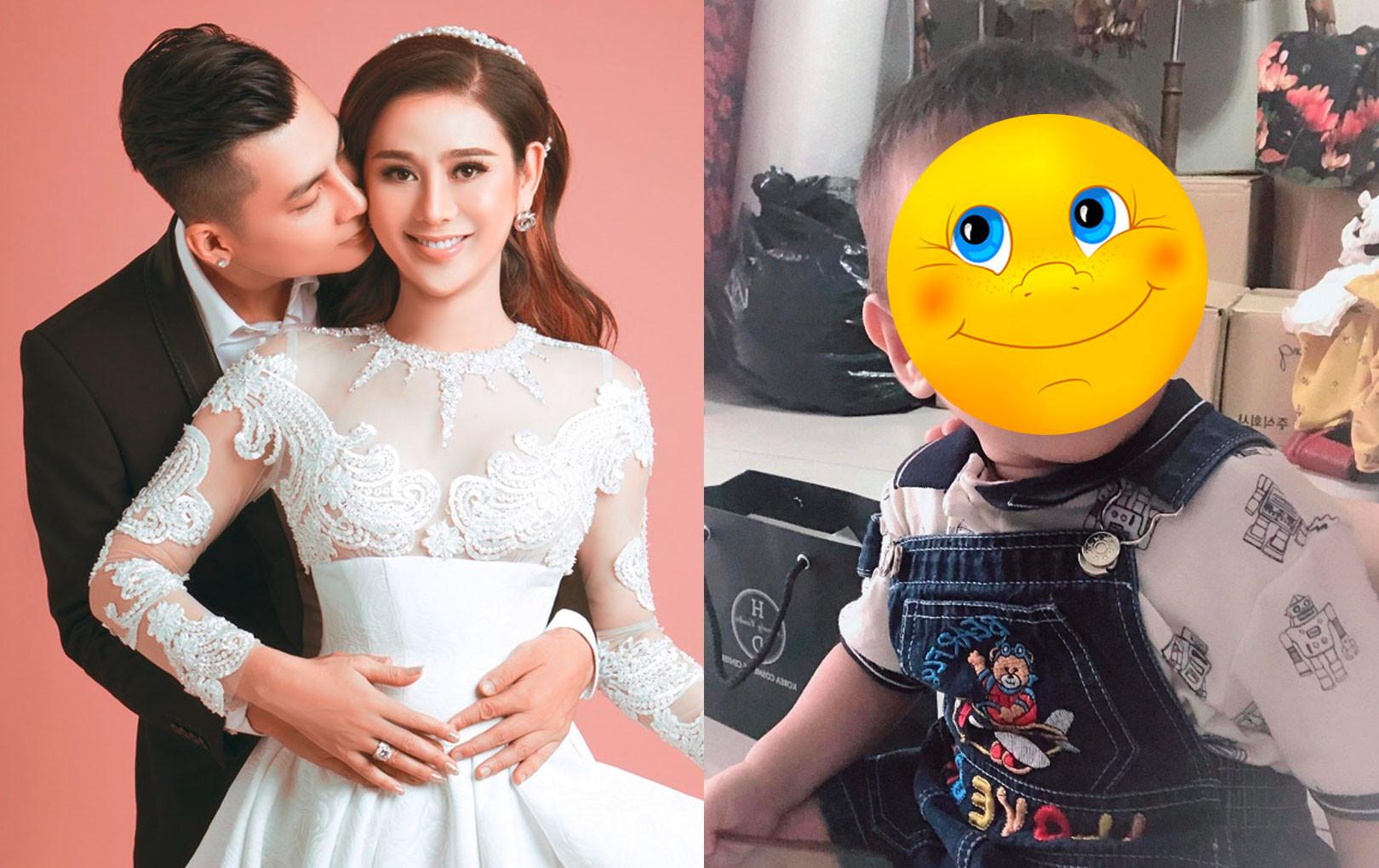 Lâm Khánh Chi khoe ảnh mới của con trai: Da trắng, mắt tròn xoe, cực kháu khỉnh
