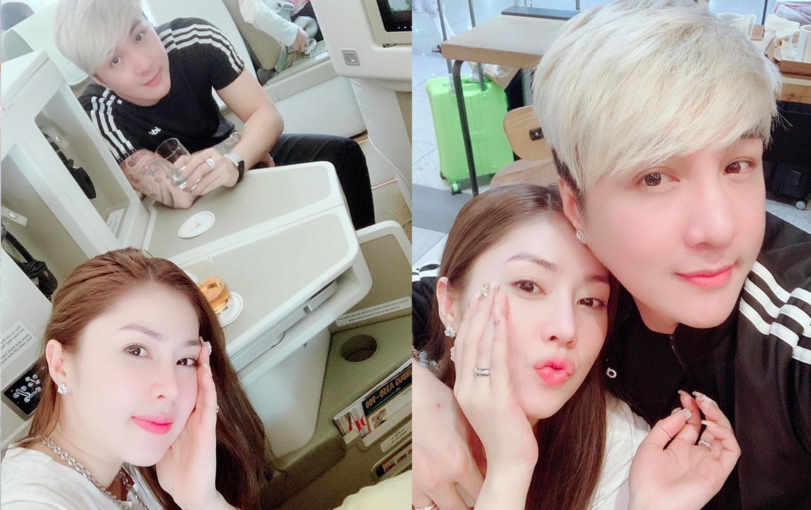 Hậu đám cưới Lâm Chấn Khang và vợ Kim Jun See hưởng tuần trăng mật ngọt ngào tại Hàn Quốc