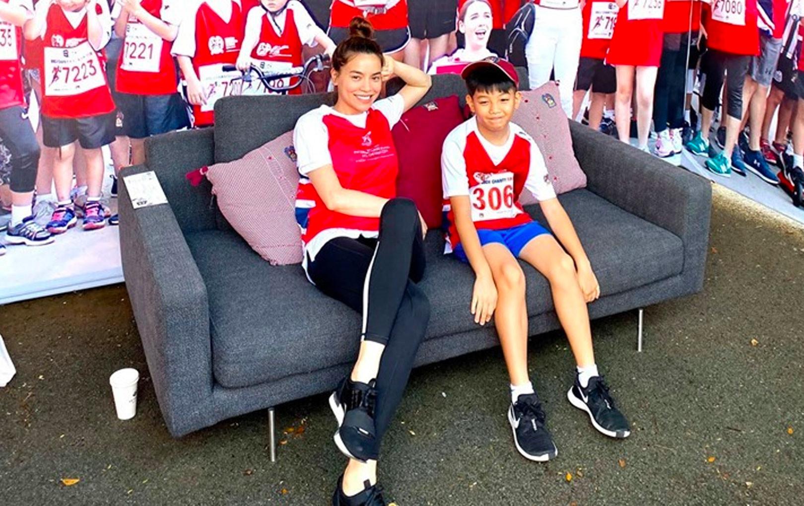 Cường Đôla - Hồ Ngọc Hà - Kim Lý cùng tham gia chương trình vận động với Subeo