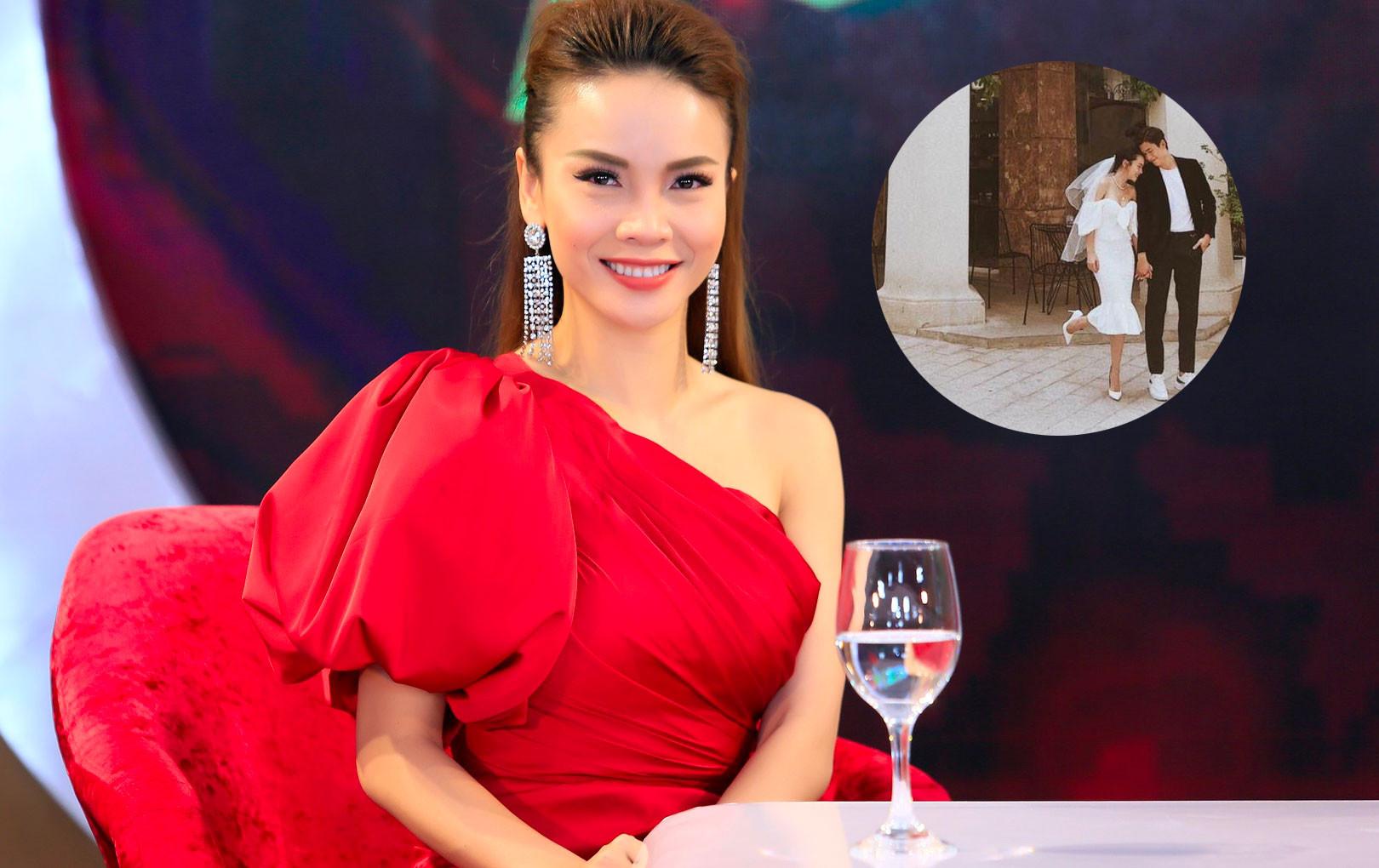 """Yến Nhi đăng ảnh chị gái mặc váy đầu đội voan trắng, nghi vấn Yến Trang sắp theo chồng """"bỏ cuộc chơi""""?"""