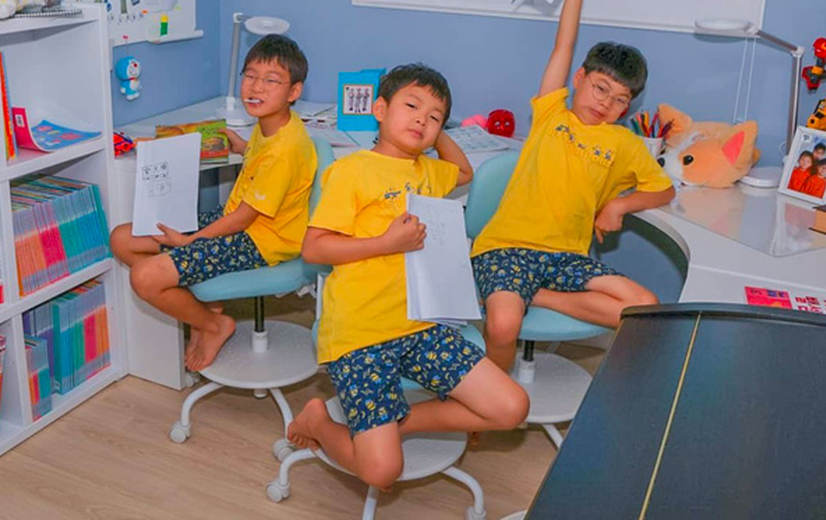 Bộ 3 thiên thần nhí Daehan, Minguk, Manse tăng cân bất ngờ sau 3 tháng vắng bóng